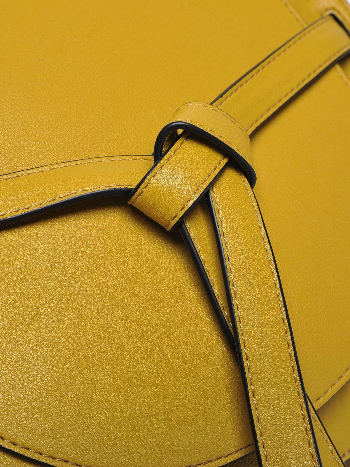 9f60953188 Dámska kabelka žltá malá s dlhým ramienkom