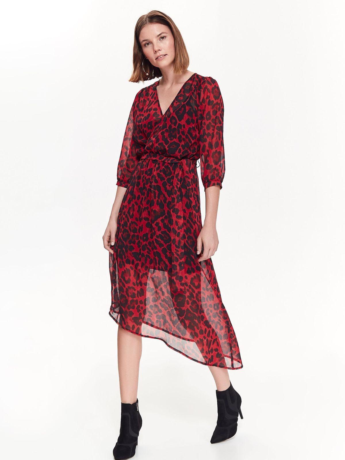 36b5494d1941 Šaty červeno-čierne